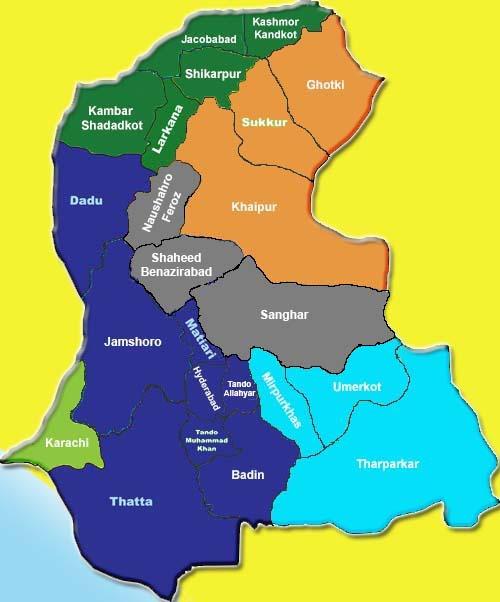 Sindh-Map